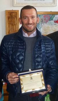 Andrea Volpini, Campione di Nuoto