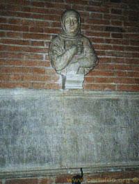 Busto di Giovanni Boccaccio, scultura di Giovan Francesco Rustici