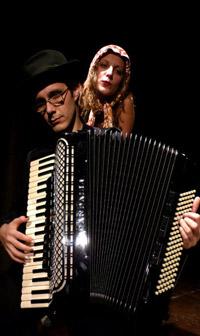 La fisarmonica del gruppo musicale Serio e Faceto