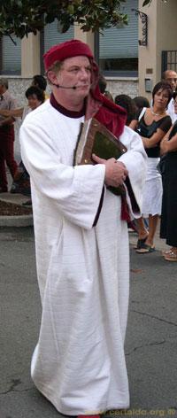 Giovanni Boccaccio al Corteo Storico di Certaldo