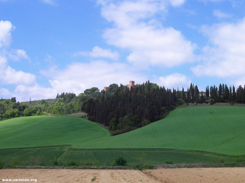 Castello di Uliveto, vicino Certaldo